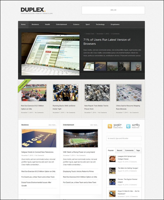 duplex-magazine-wordpress-theme