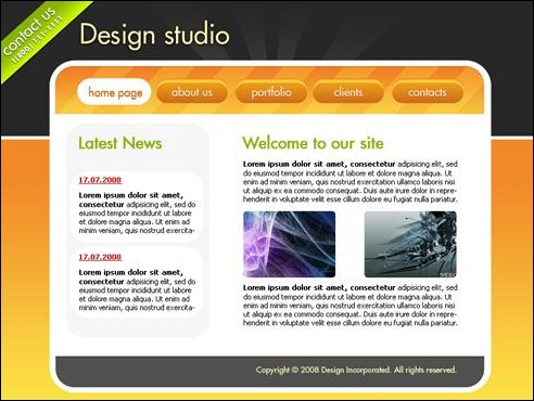 35 cool and creative user interface design tutorials Where can i make a website