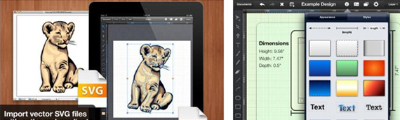 ipad apps for designers