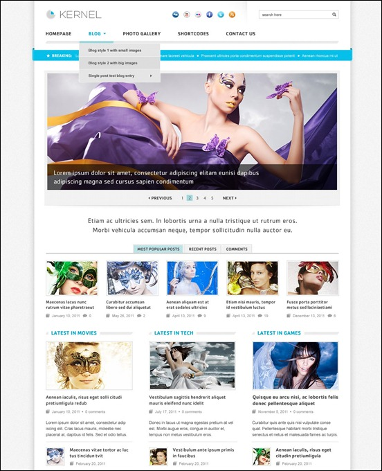 kernel-wordpress-theme