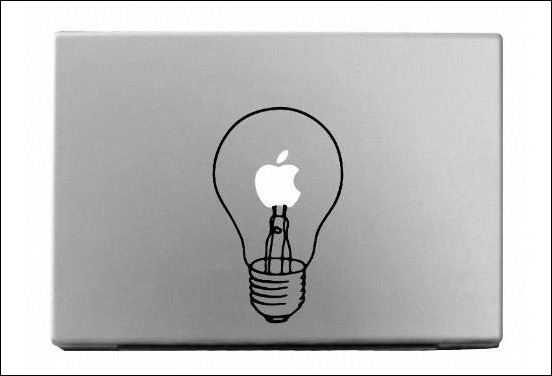 lightbulb-macbook-sticker