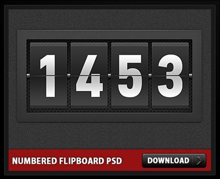 numbered-flip-board-psd