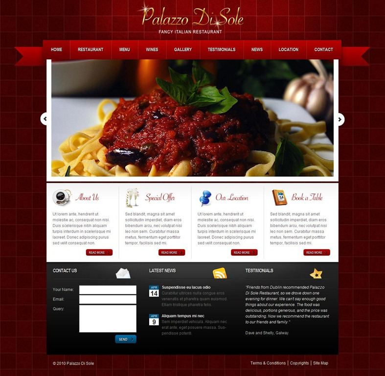 Restaurant Wordrpess Themes 35 of the Best Restaurant WordPress Themes - Creative ...