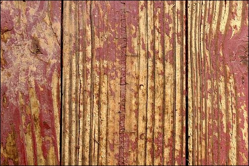 peeling-red-paint-on-wood