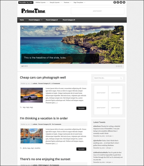 prime-time-wordpress-theme