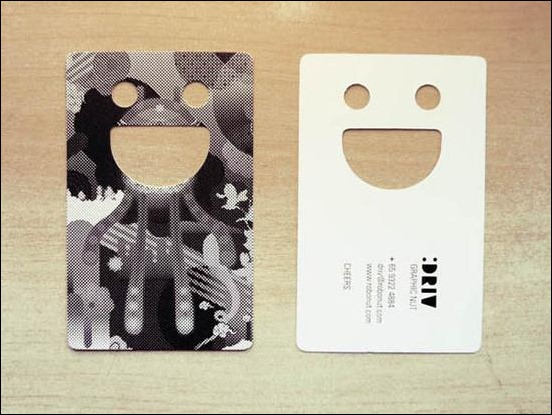 smiley-business-card