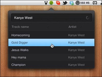 spotify-quick-search