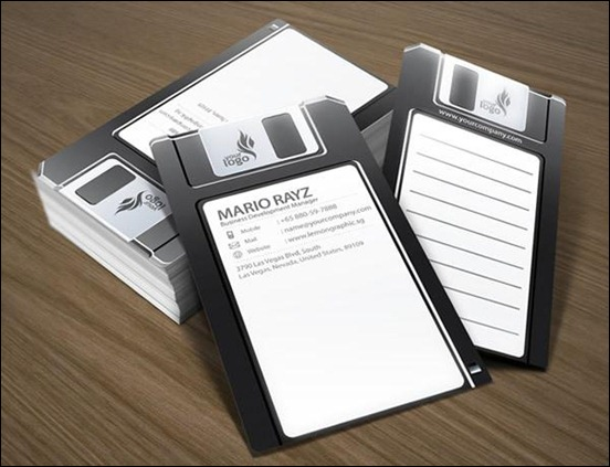 the-floppy-disk-business-card