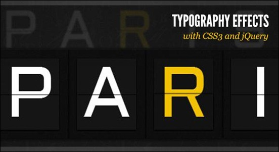 typography-effects-with-CSS-and-jQuery