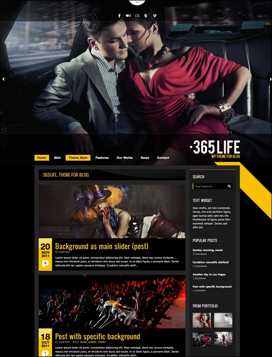 365-life-wordpress-theme