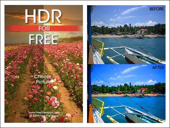 HDR-for-free