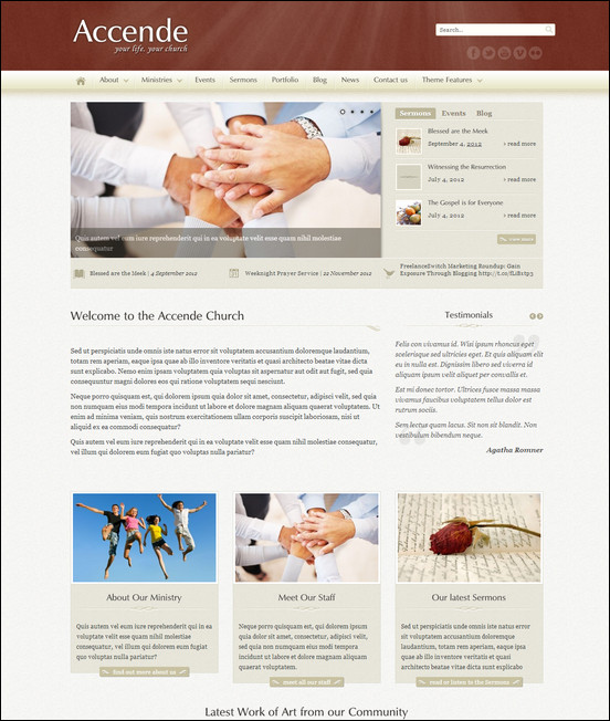 accende-wordpress-church-theme