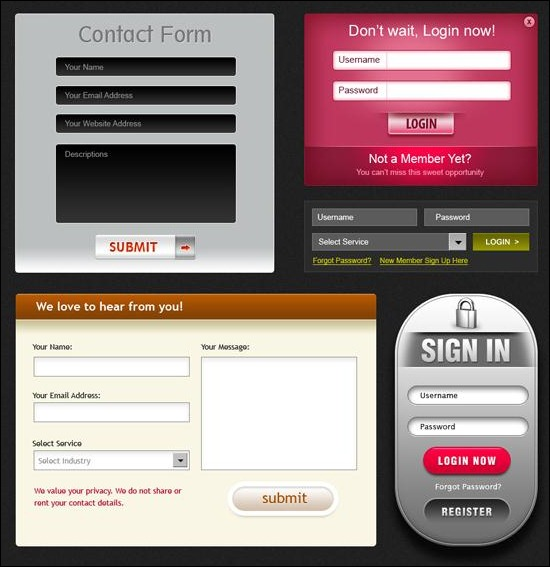 beautiful-webforms-forms-for-free