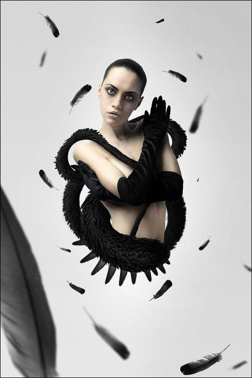 createa-a-black-swan-inspired-movie-poster