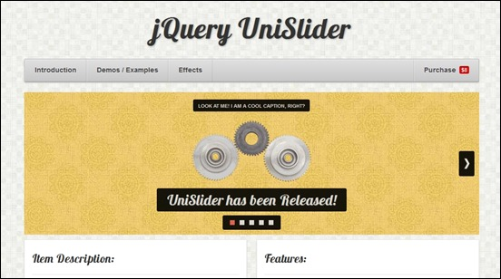 jquery-unislider