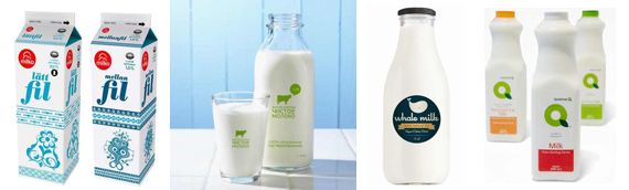 milk packaging designs