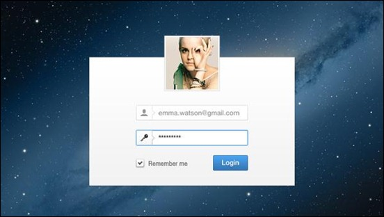 minimal-login-user-interface