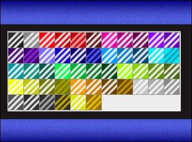 striped-metallic-gradients
