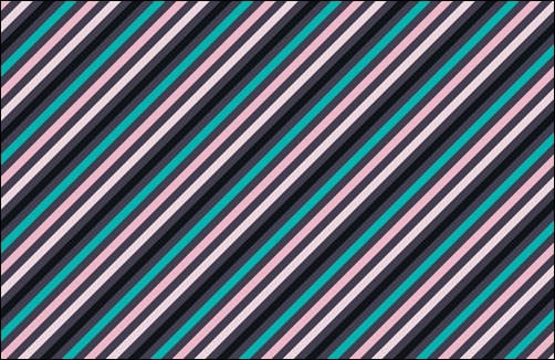 80's-stripe