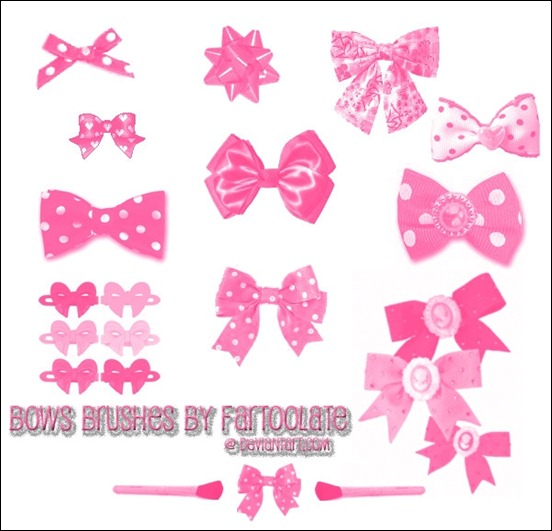 bows-brush-set