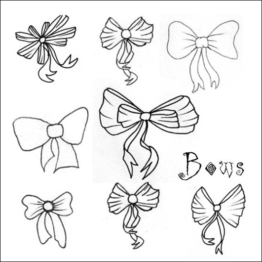bows-brushes