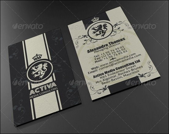 50 Attractive Business Card Psd Templates Creative Cancreative Can