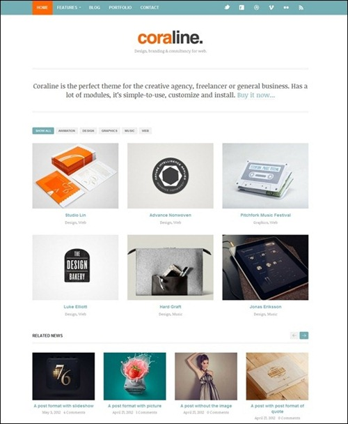 coraline-responsive-minimal-wordpress-theme