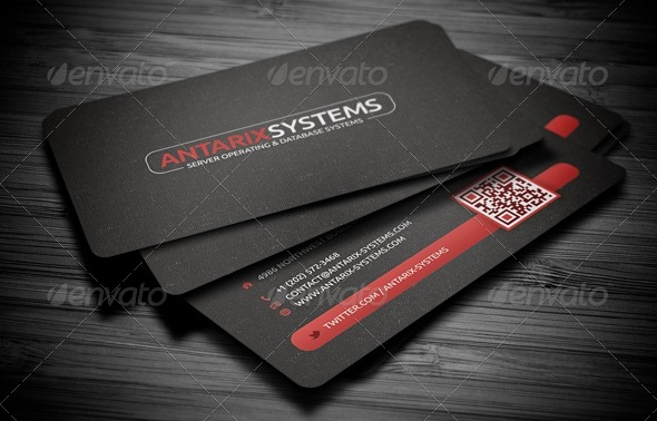 50 attractive business card psd templates creative cancreative can creative qr code business card friedricerecipe Gallery