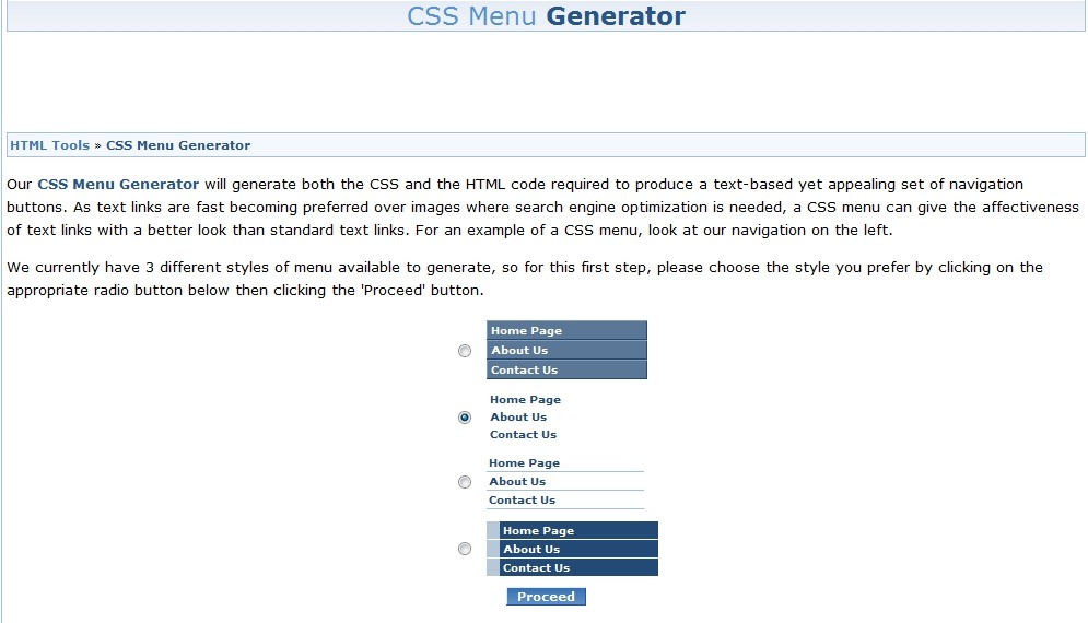 40 useful css tools and generators for web developers creative css menu generator1 malvernweather Image collections