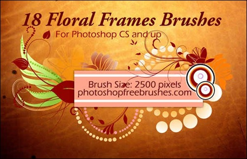 floral-frame-photoshop-brushes