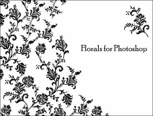 florals-for-photoshop