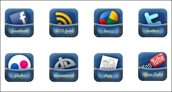 jeans-pocket-social-media-icons
