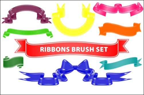 ribbons-ps-brushes