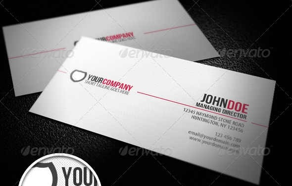 50 Attractive Business Card PSD Templates Creative