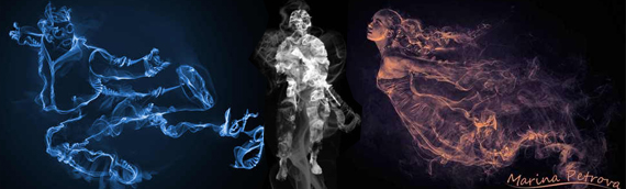 smoke effect in artworks