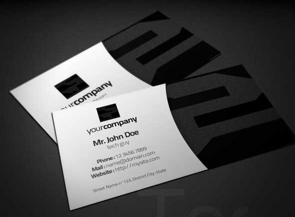 tech business cards