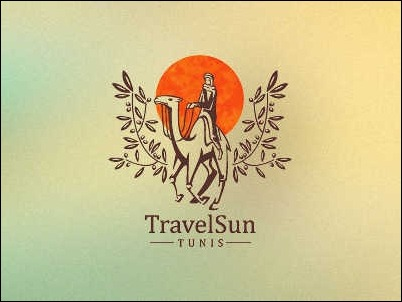 travel-sun-logo-design