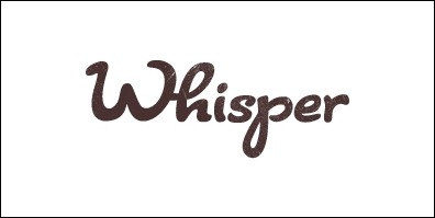 whisper