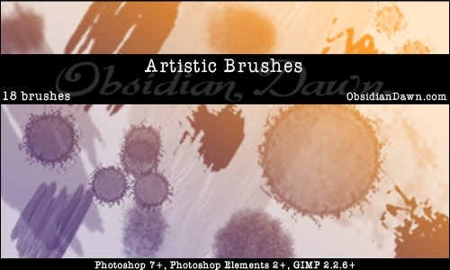 artistic-brushes