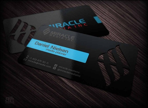 business-card-for-miracle-media-inc