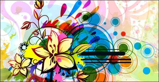 colorful-floral-vector-patern