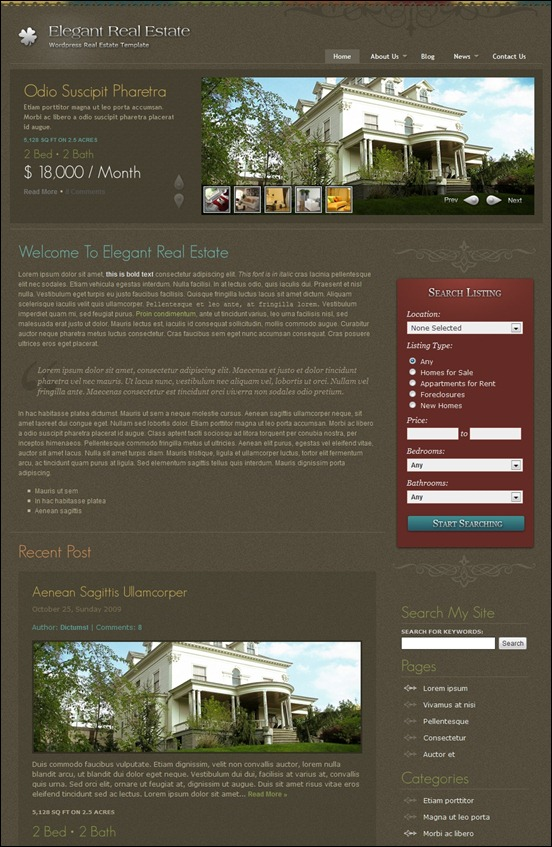 elegant-real-estate-wordpress-theme