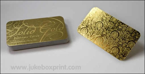 gold-business-card
