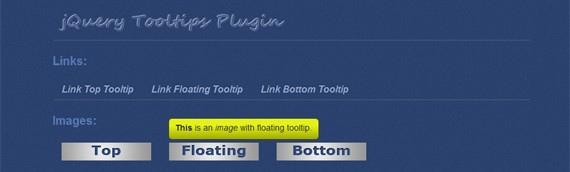 35 Useful jQuery Tooltip Plugins to Enhance Interaction