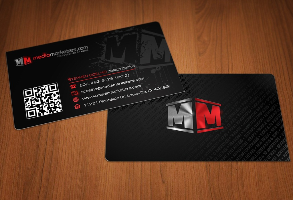 35 charming business cards with rounded corners creative media marketers business cards by stephen coelho colourmoves