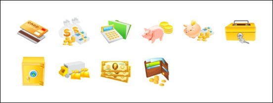 money-icons-set
