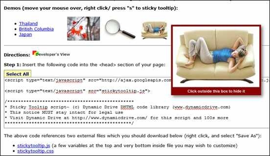 35 Useful jQuery Tooltip Plugins to Enhance Interaction - Creative