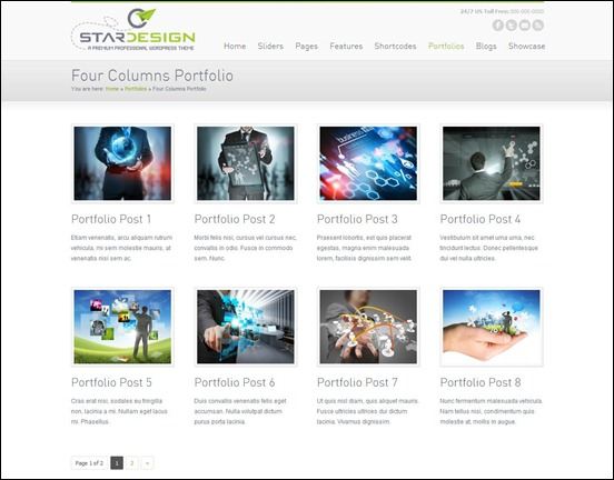 CStar Design WordPress Theme
