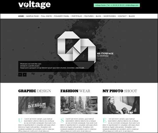 Creative Responsive WordPress Theme