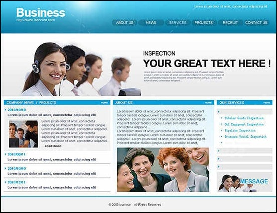 blue-business-web-template